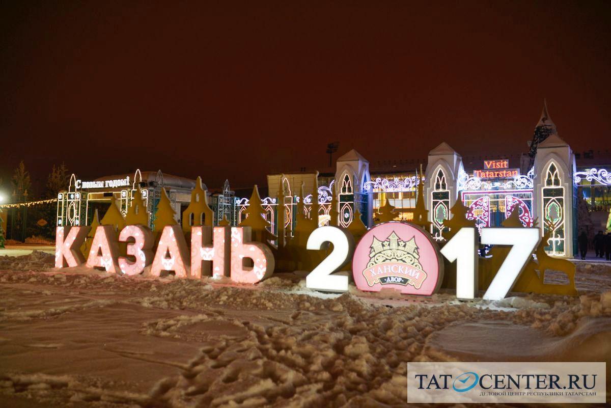 Вновогодние праздники Казанский Кремль посетили 96 тыс. туристов