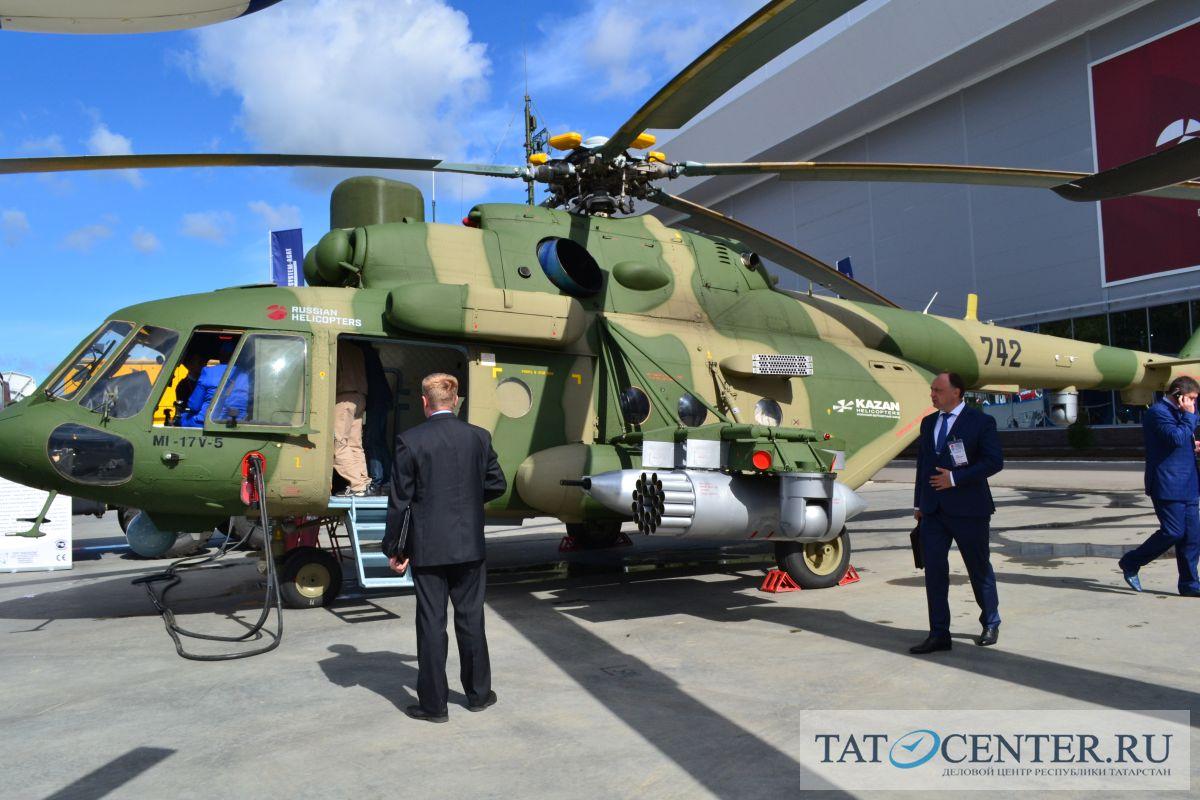 Партия военно-транспортных Ми-8МТВ-5-1 поступила ввойска