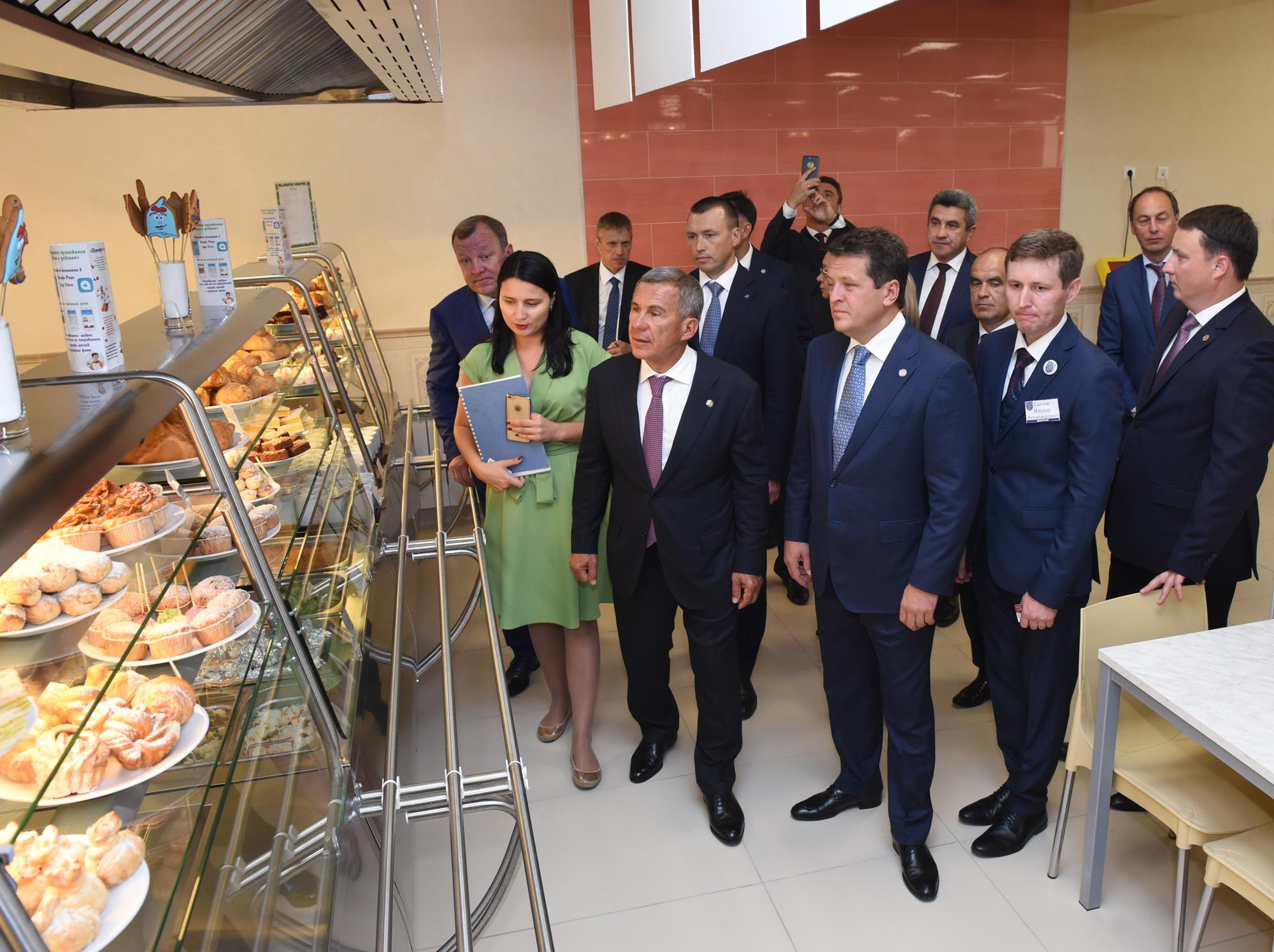 Питание в школах Казани