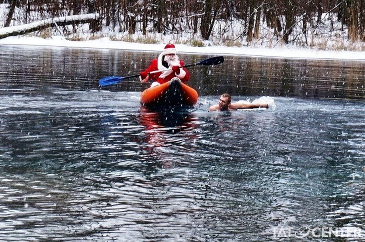 Новогоднюю елку надне Голубого озера установят впредстоящие выходные