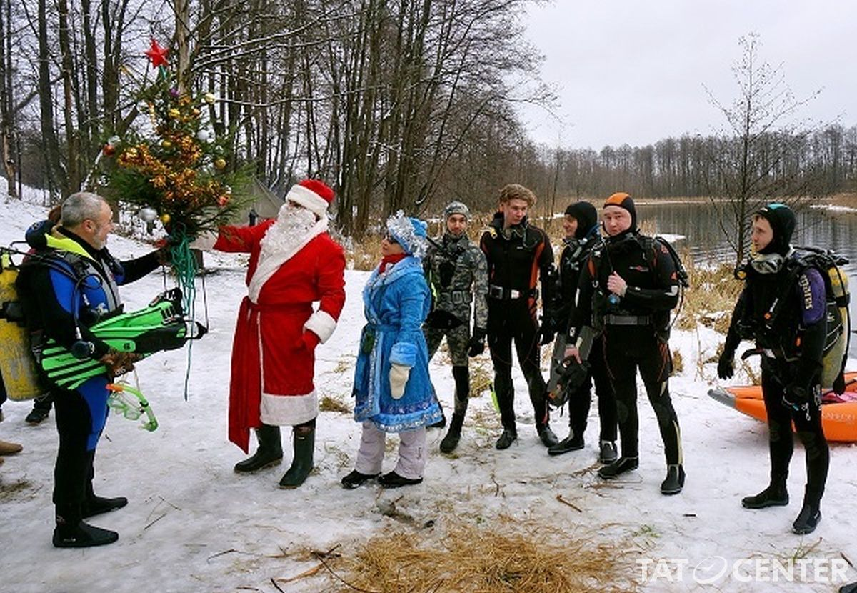 Вгрядущие выходные надне Голубого озера установят новогоднюю елку