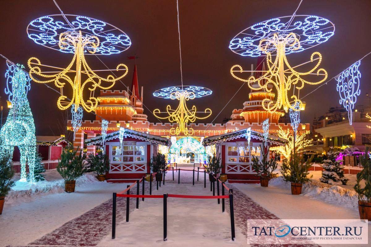 Новый год в Казани