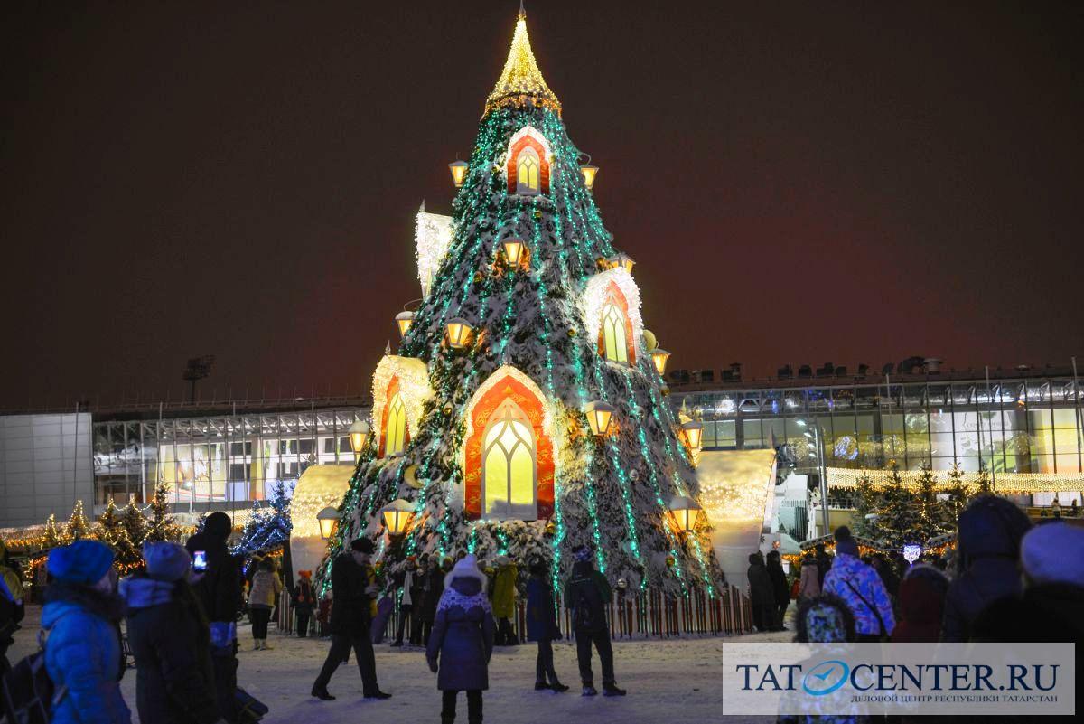 фото новогодней елки в казани мой взгляд