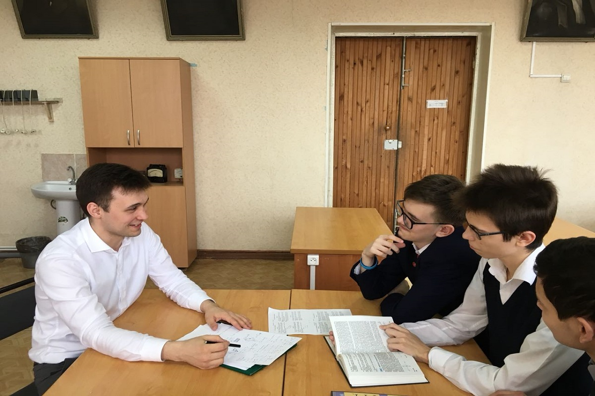Радик Хабиров учитель года в Татарстане 2018