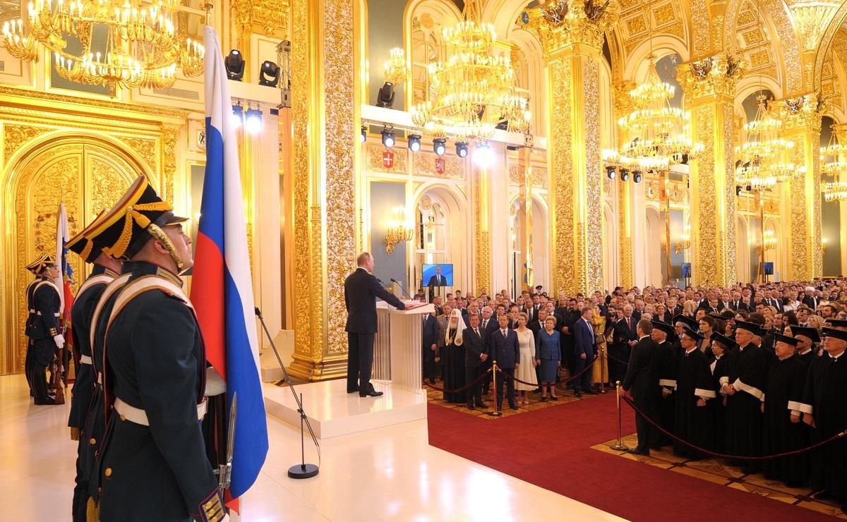 Инаугурация Путина 7 мая 2018 года