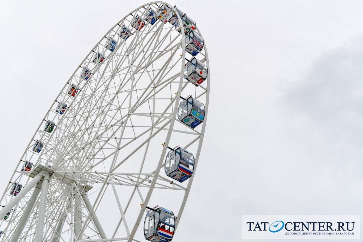 колесо обозрения в Казани