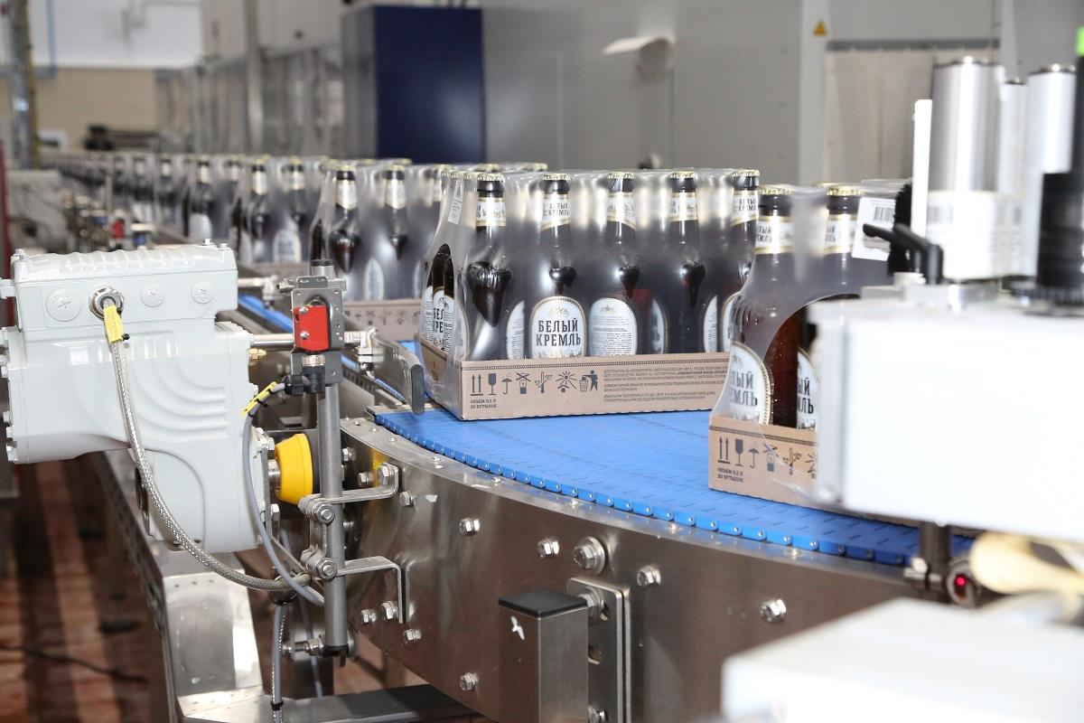 Белый кремль пивоваренный завод в Чистополе