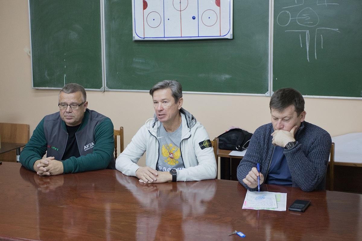 Быков и Захаркин Ак Барс хоккей Татарстан