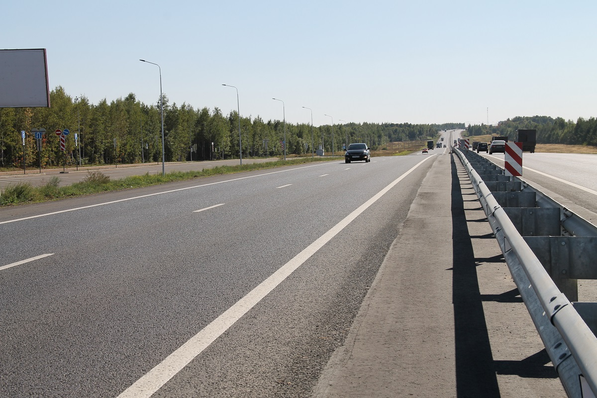 дороги в Пестречинском районе Татарстана