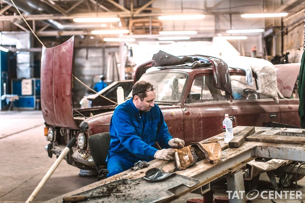 реставрация раритетных авто, Казань Татарстан