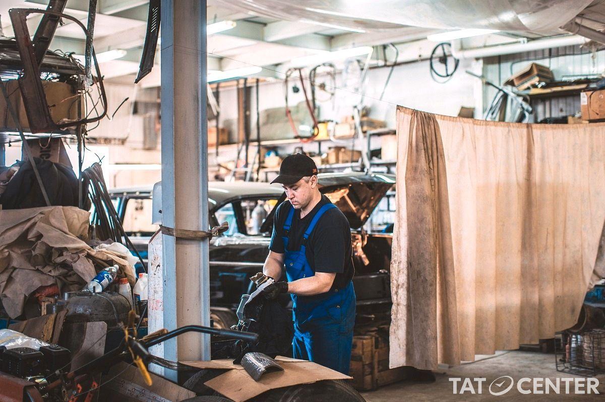 реставрация раритетных авто Казань Татарстан