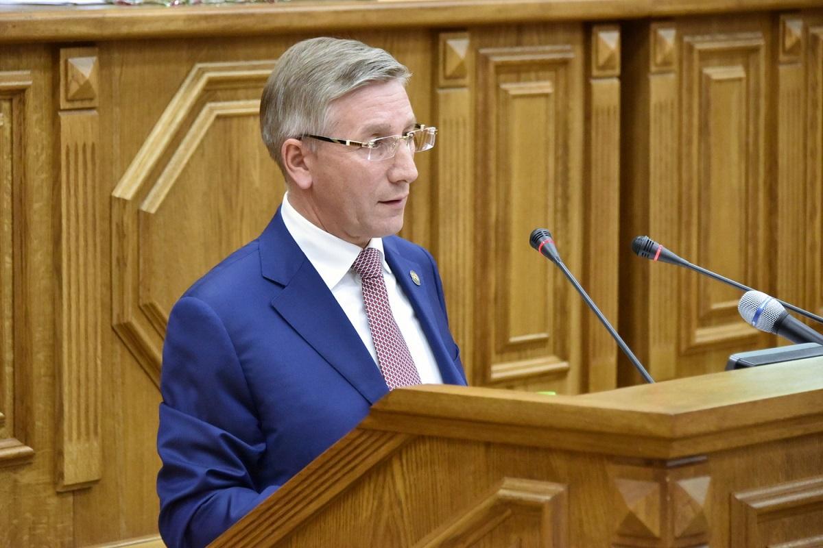 Радик Гайзатуллин, министр финансов РТ