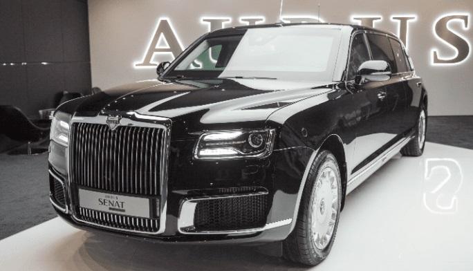 Aurus открывает первый автосалон в Москве