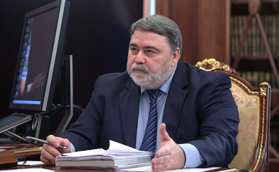 Глава ФАС РФ Игорь Артемьев