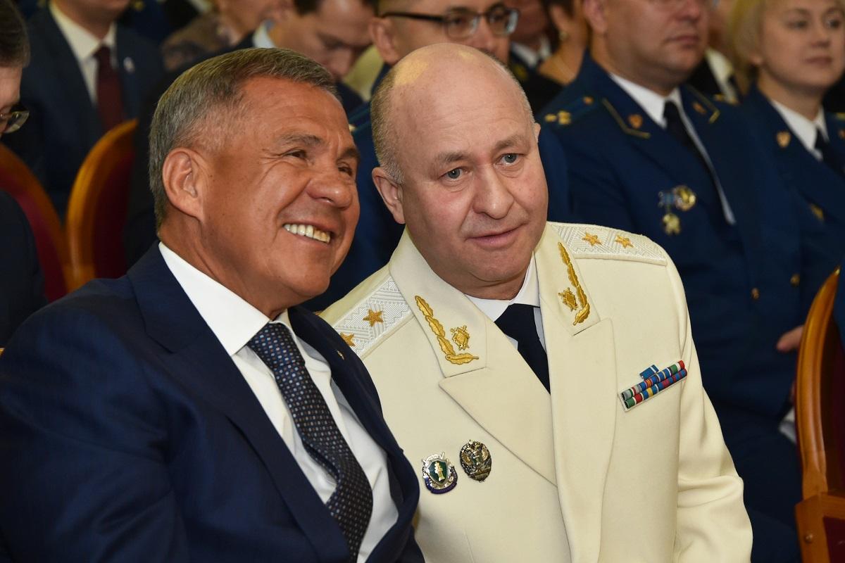 Нафиков и Минниханов