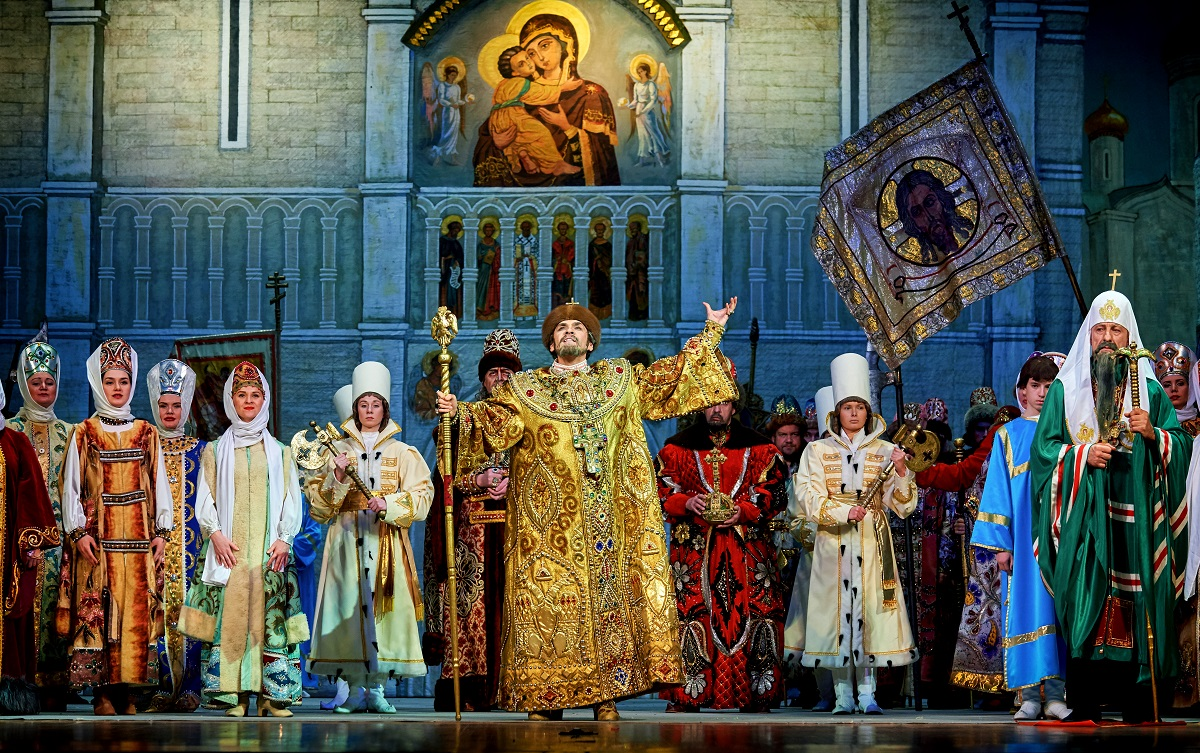 опера Борис Годунов Шаляпинский фестиваль