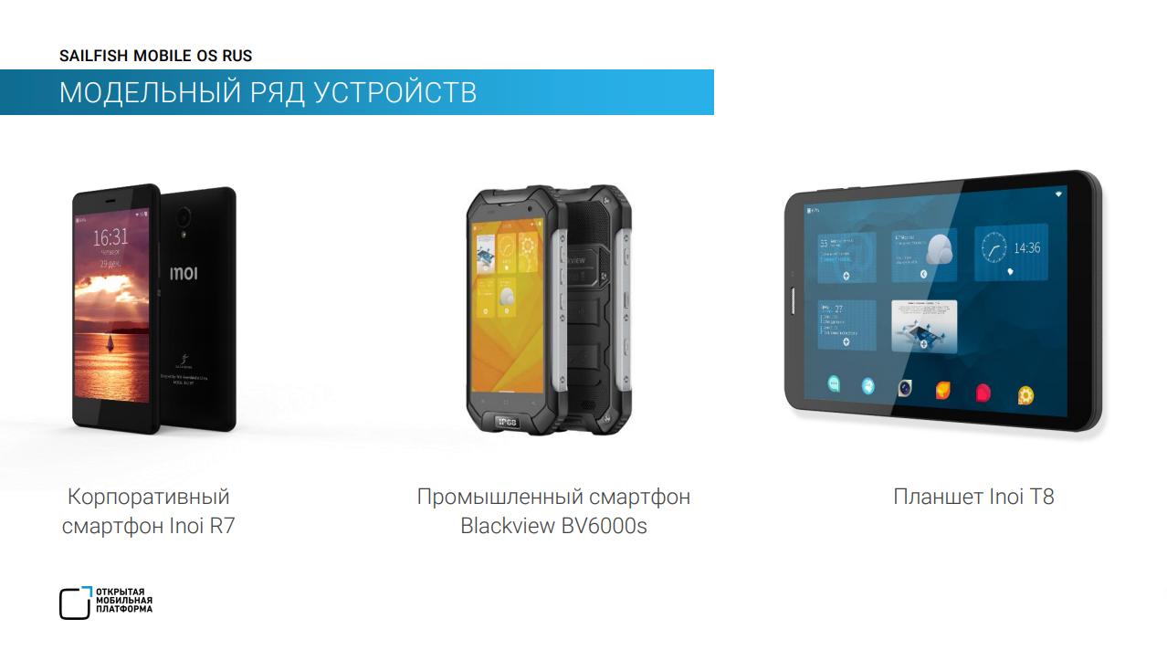 Inoi смартфон планшет Sailfish OS