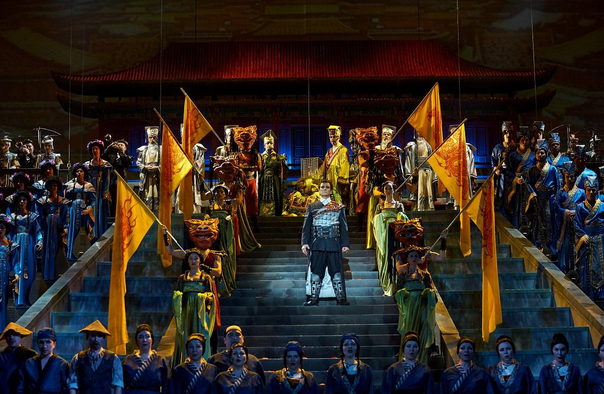опера Турандот Шаляпинский фестиваль