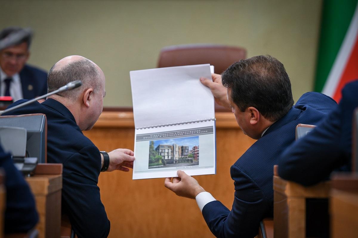 комиссия по строительству в центре Казани