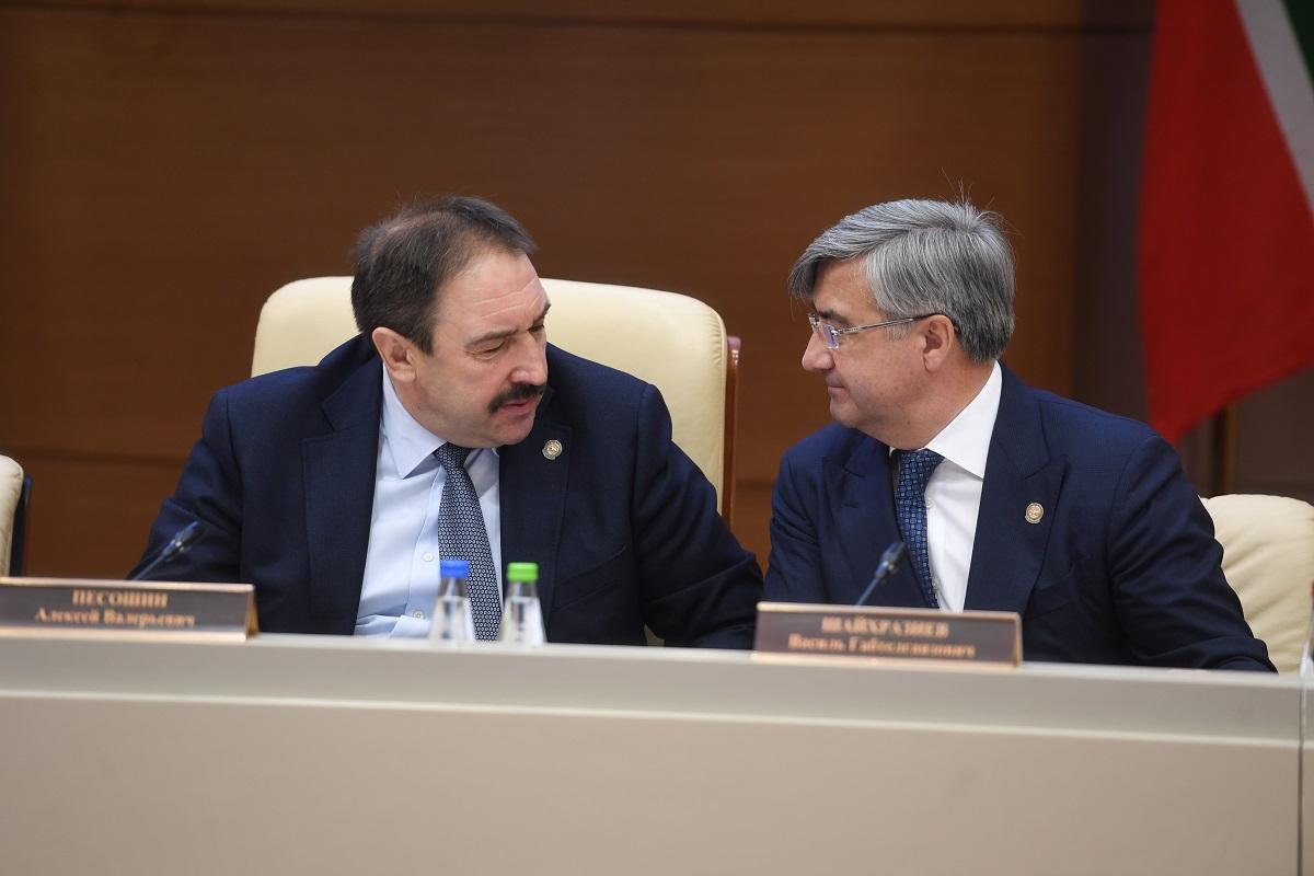 Алексей Песошин и Василь Шайхразиев