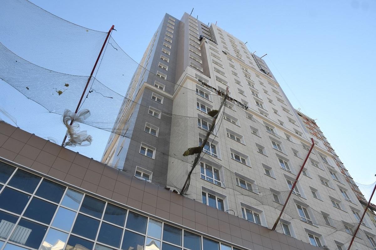 Долгострой на Чистопольской в Казани