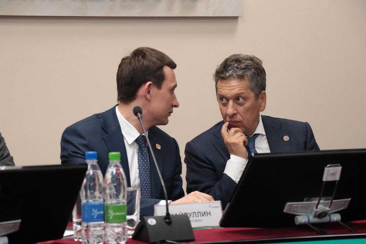Хайруллин и Маганов