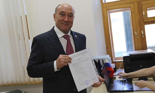 Марат Ахметов праймериз