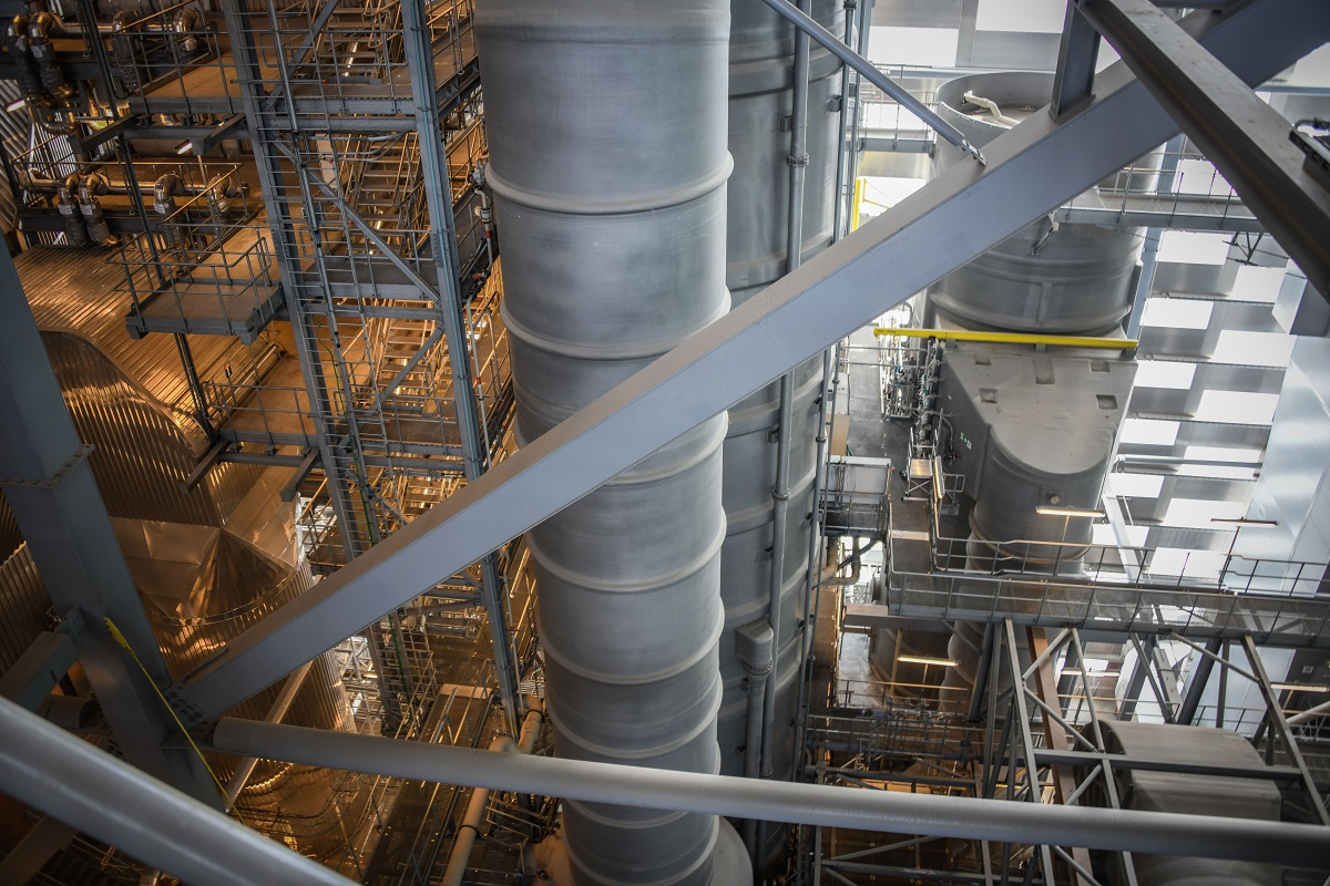 Мусорный завод в Дании