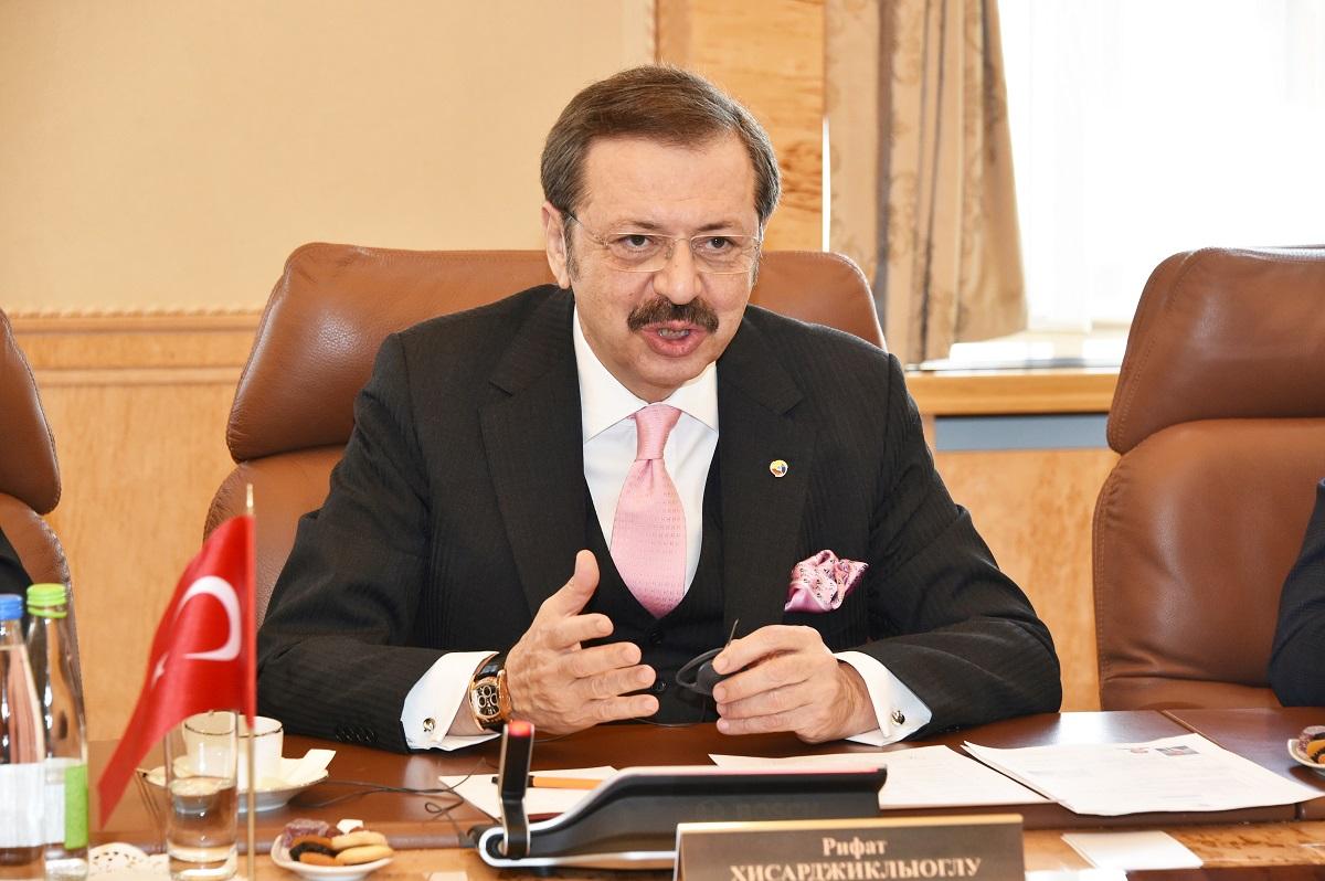 Рифат Хисарджиклыоглу и Рустам Минниханов обсудили вопросы сотрудничества