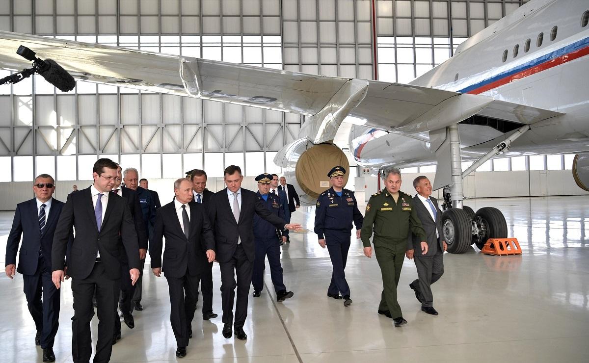 Путин посещение КАЗ