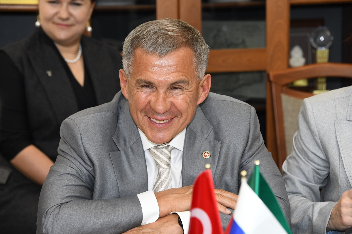 Рустам Минниханов Турция Татарстан