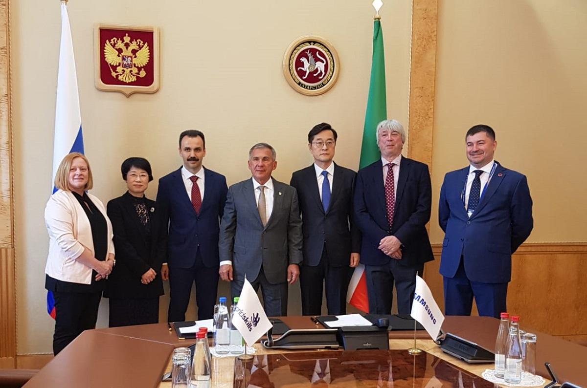 Samsung Electronics стал генеральным партнером WorldSkills в Казани