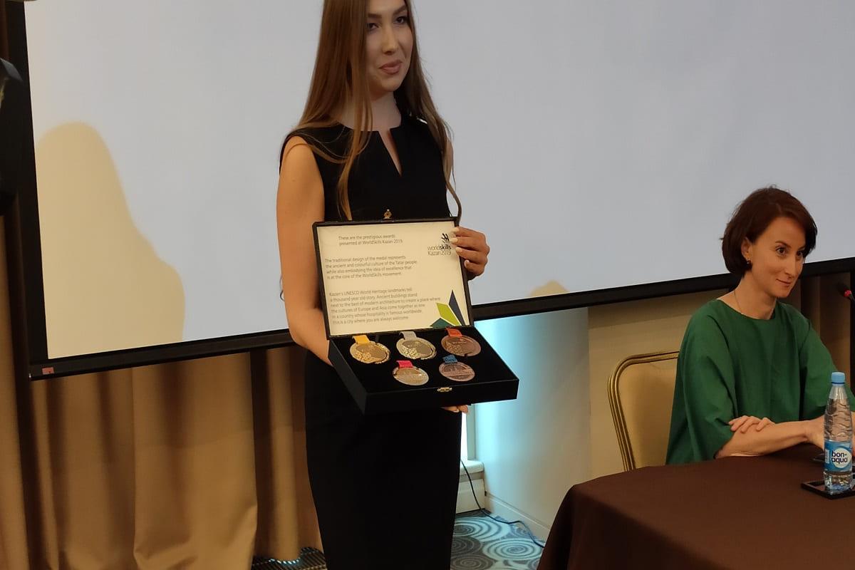 В Казани презентовали Медали WorldSkills
