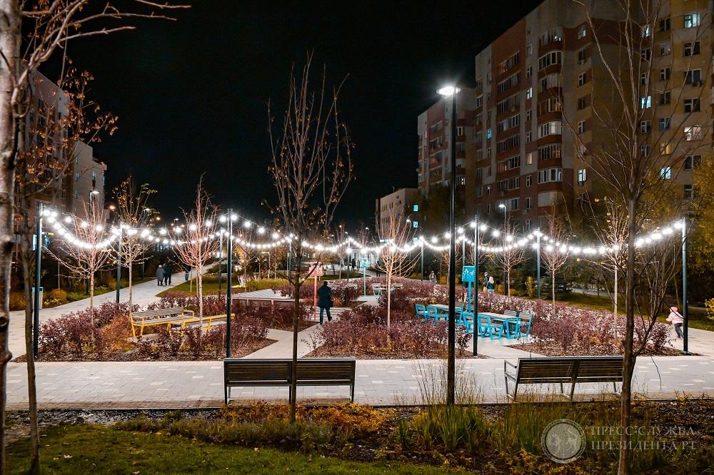 бульвар белые цветы в Казани