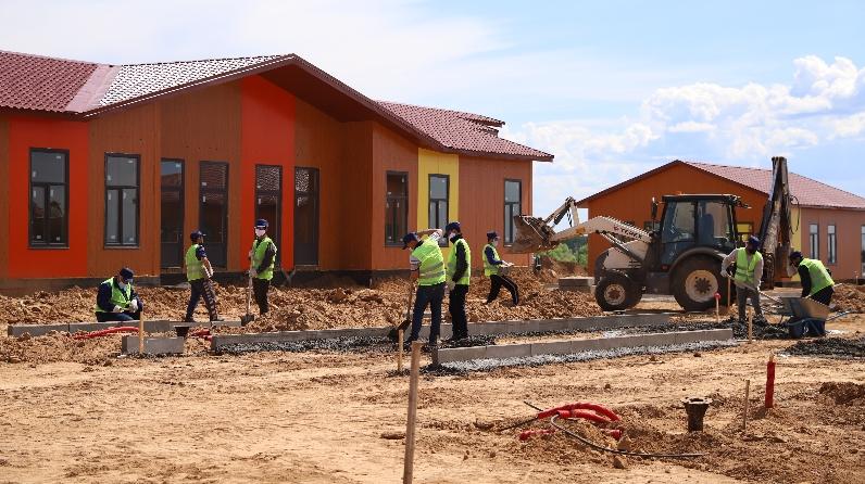 строительство ДОЛ Волга в Татарстане