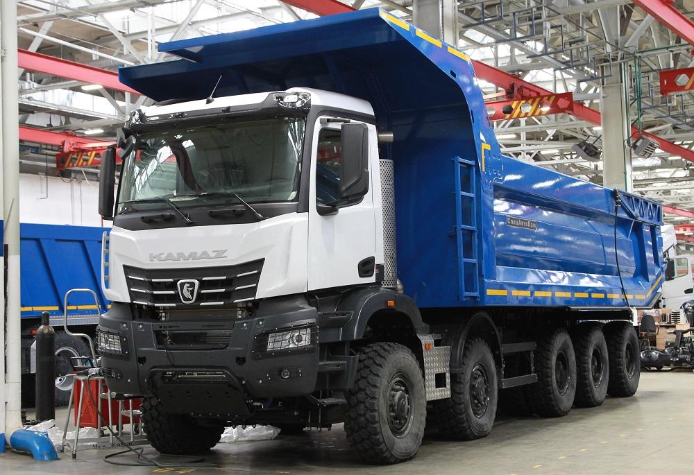 Самый большой грузовик КАМАЗ