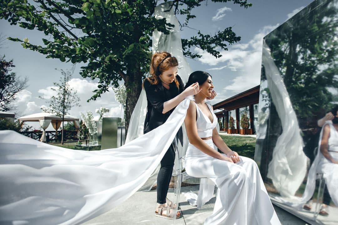 невеста фотосессия