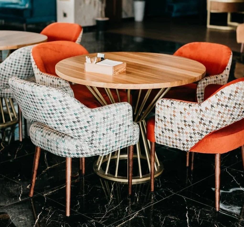 мебель кафе кресла стол