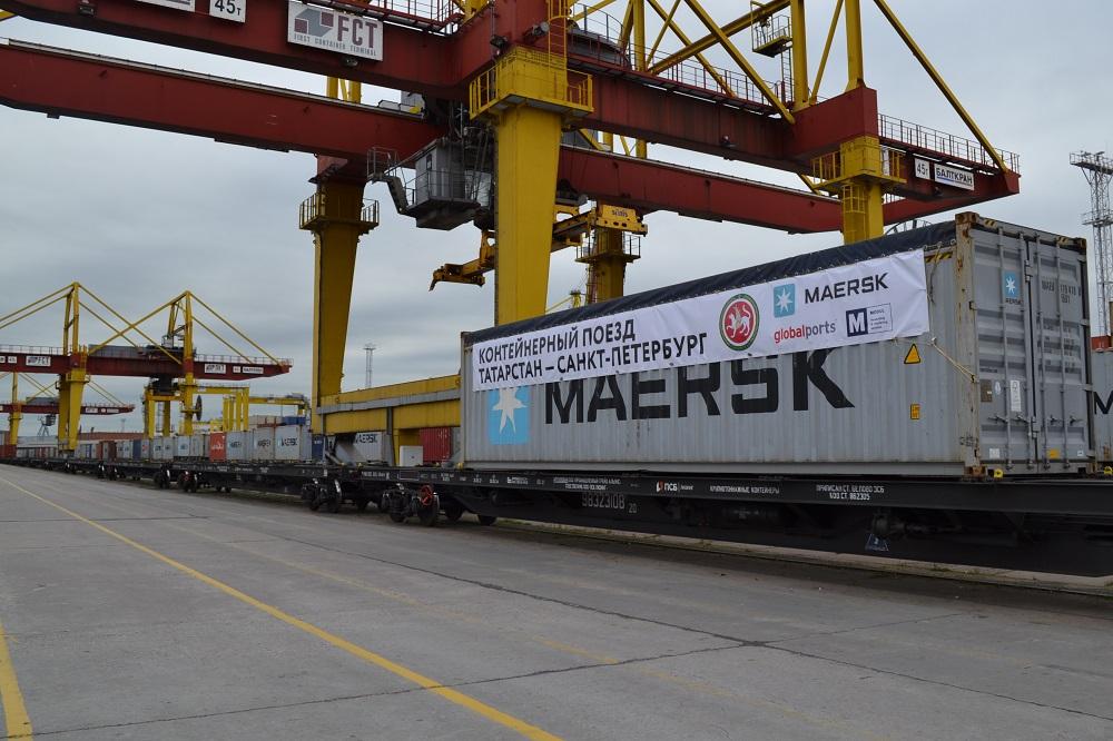контейнерные перевозки Татарстан - Санкт-Петербург